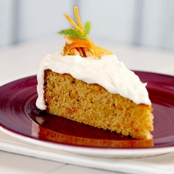Karottenkuchen schnelle Zubereitung herrlicher frischer Geschmack