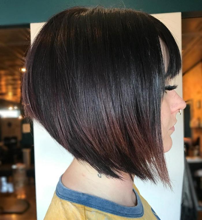 Kurzhaarfrisuren für feines Haar Bobschnitt feines Haar