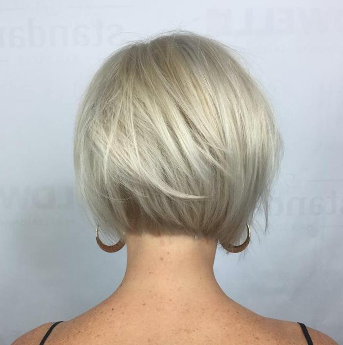 Kurzhaarfrisuren für feines Haar Bobschnitt kurz