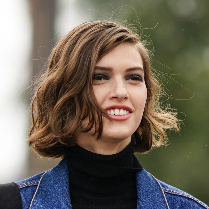 Kurzhaarfrisuren für feines Haar Bobschnitt mittel lang