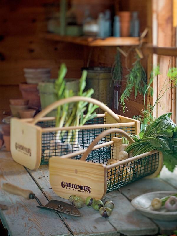 Originelle und praktische Geschenkideen für Gartenbesitzer im Frühling erntekorb praktische geschenke