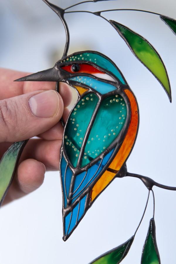 Originelle und praktische Geschenkideen für Gartenbesitzer im Frühling sonnenfänger glas vogel