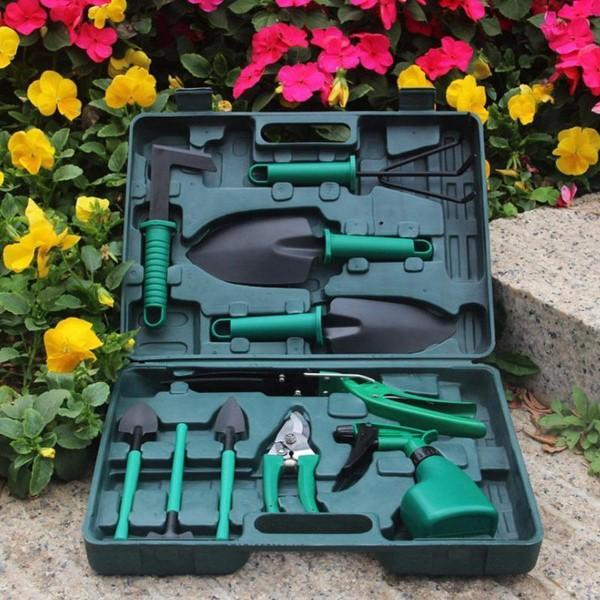 Originelle und praktische Geschenkideen für Gartenbesitzer im Frühling werkzeuge kit set neue gärtner