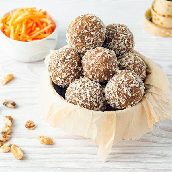 Osterbrunch Rezepte Karottenkugeln Dessert Ideen