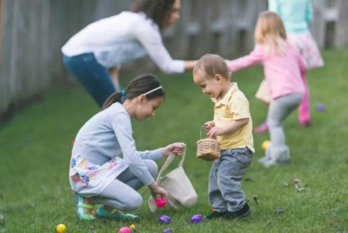 Ostereier bemalen Ideen kindgerecht eier verstecken