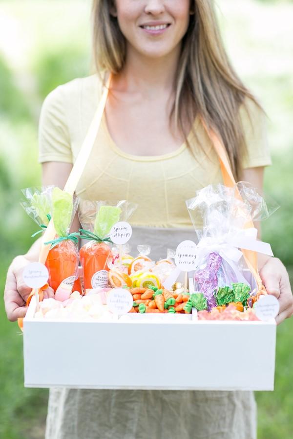 Osterkörbchen basteln – kreative Ideen, festliche Tipps und kinderleichte Anleitung zum Nachmachen süßigkeiten box korb