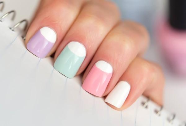 Pastell Nägel – Ideen für eine stilvolle Frühlings- und Oster-Maniküre anti french mani