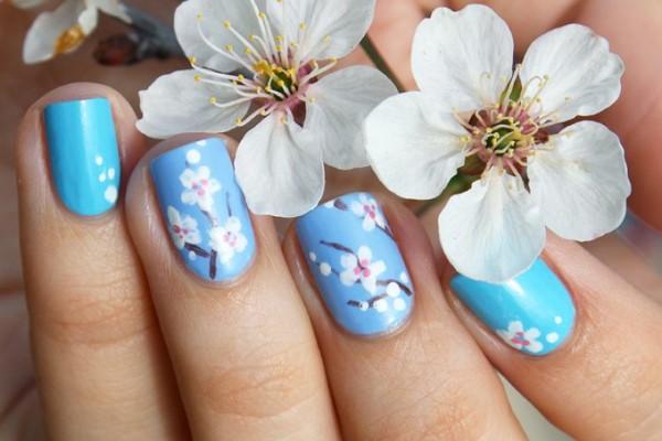 Pastell Nägel – Ideen für eine stilvolle Frühlings- und Oster-Maniküre blüten natur inspiration