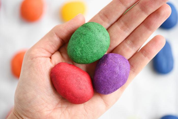 Salzteig Ostern Ideen basteln mit Kindern zu ostern ente2