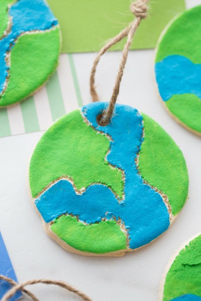 Salzteig Ostern Ideen basteln mit Kindern zu ostern planet
