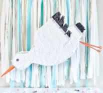 Storch basteln – frische Ideen und Anleitung zum Frühling