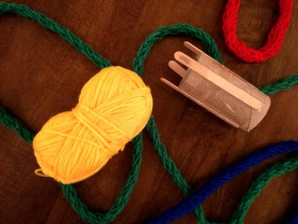 Strickliesel Anleitung Ideen Strickschnur