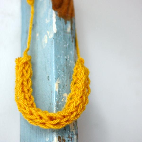 Strickliesel Halskette stricken Anleitung