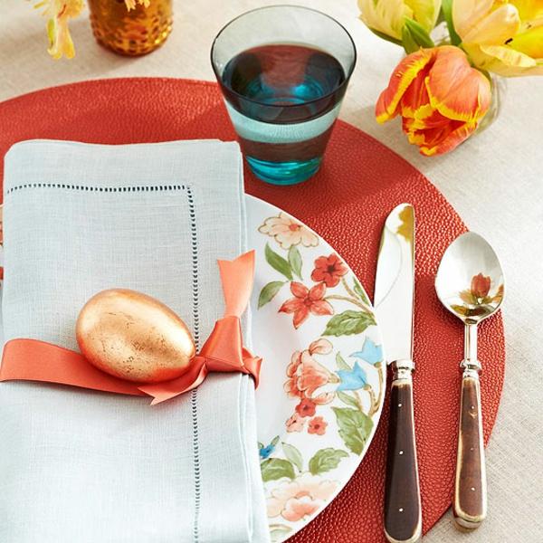 Tischdeko zu Ostern Ostertisch Tisch eindecken ´Tipps