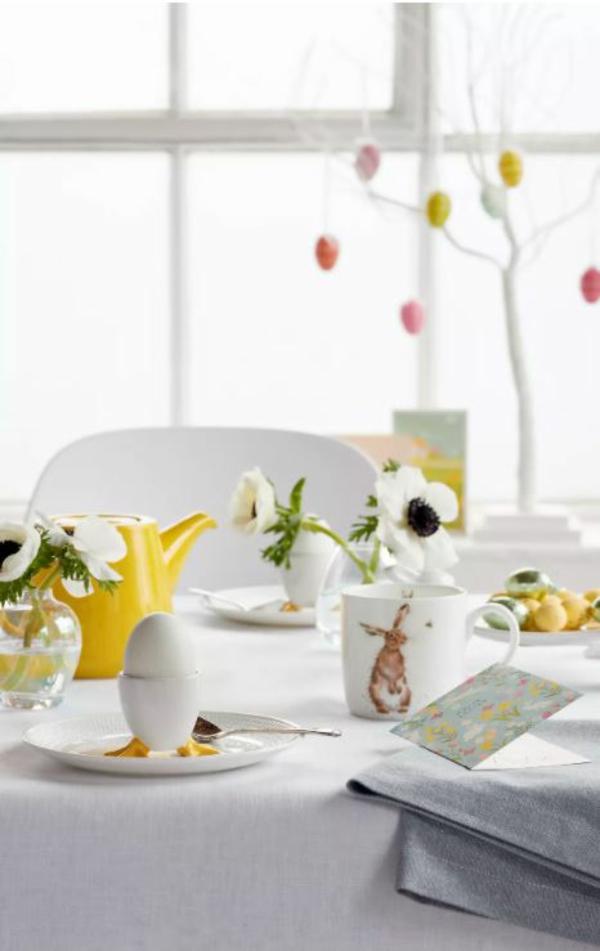 Tischdeko zu Ostern Tischdekoration Ostertisch