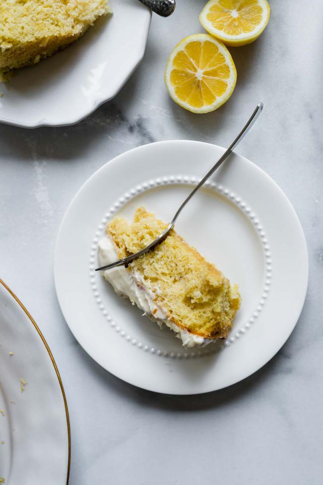Zitronenkuchen backen das Grundrezept geling immer kommt aus Omas Zeit