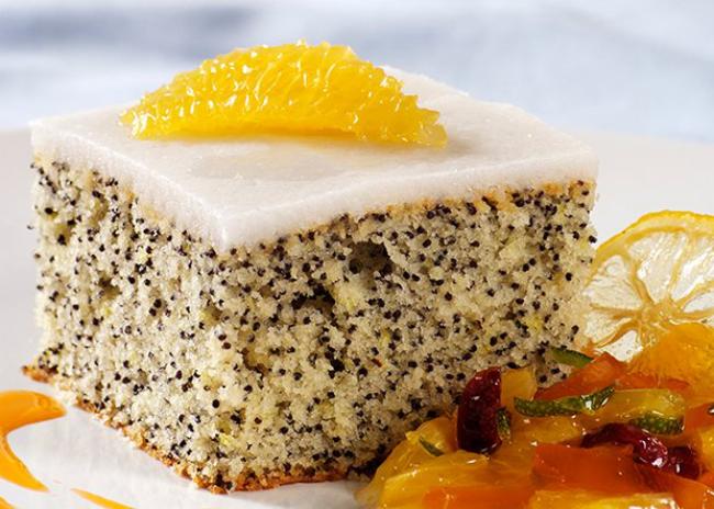 Zitronenkuchen backen zwei Rezepte die vegane Variante Zitronen-Mohn-Kuchen
