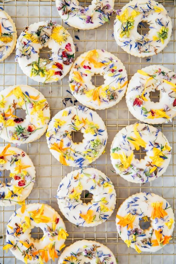 blüten osterkekse selber backen