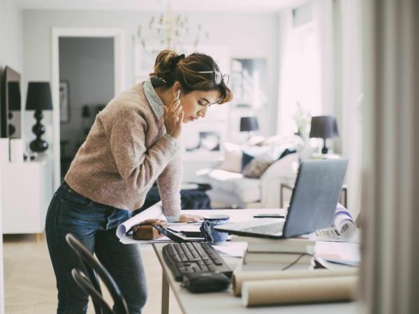 grünes und nachhaltiges Home Office einrichten Trends