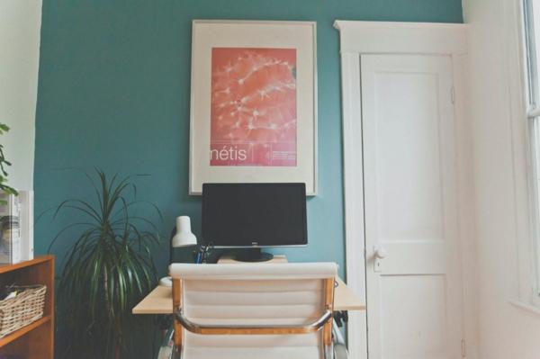 grünes und nachhaltiges Home Office einrichten umweltfreundliche Ideen