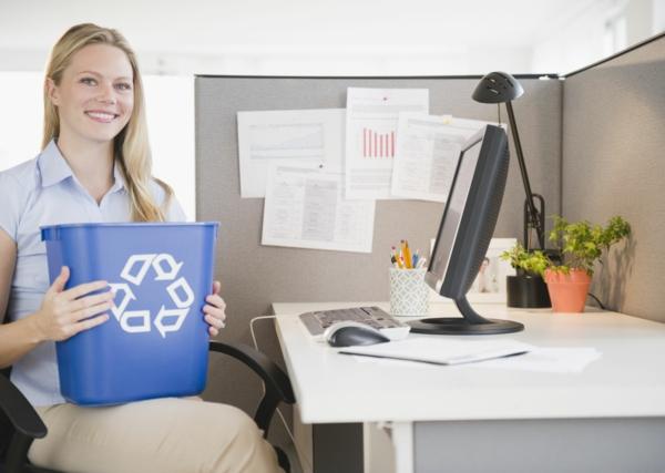 grünes und nachhaltiges Home Office einrichten wiederverwenden