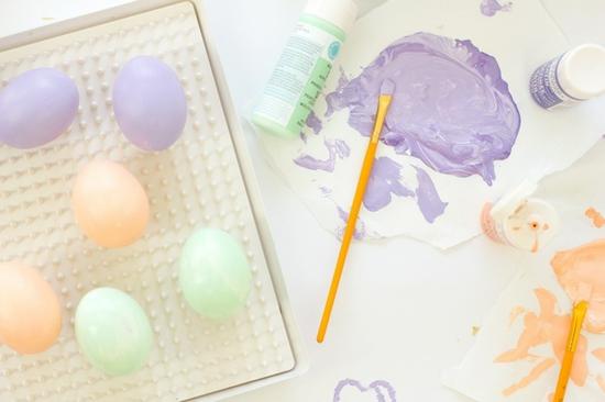 konfetti ostereier färben
