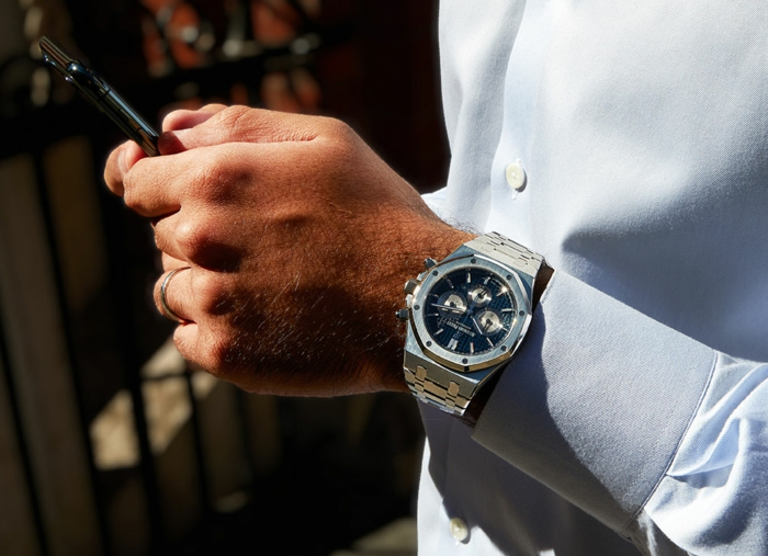 luxusuhren kaufen moderner mann