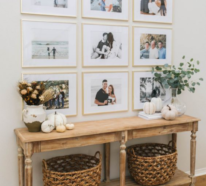 Moderne Fotowand gestalten: Ihr praktischer Guide, wie Sie Ihre Wände stilvoll schmücken