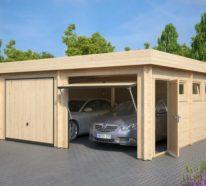 Günstige und moderne Gartenhäuser für gute Erholung und mehr Komfort