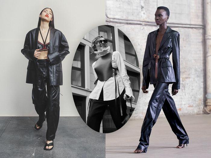 modetrends 2021 fruehling mix leder