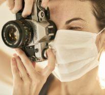 Ohne Mundschutzmasken ist Reisen nicht möglich!