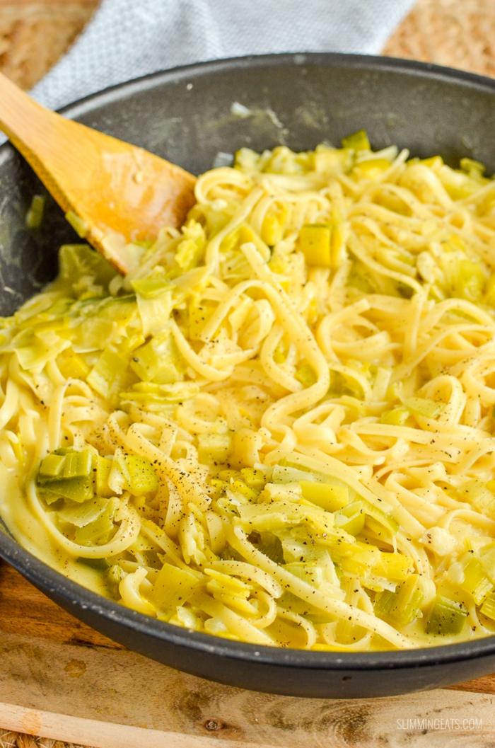 one pan pasta kaese