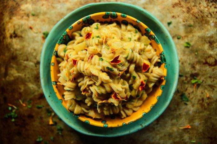 one pan pasta kuerbis