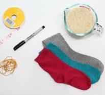 Osterhasen basteln aus Socken- 4 DIY Ideen und Inspirationen