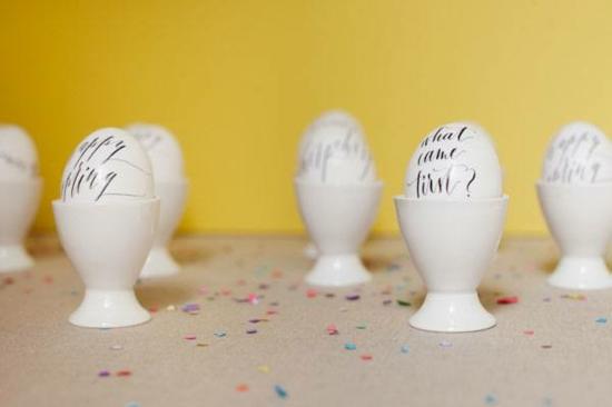 ostereier färben kalligrafie methode