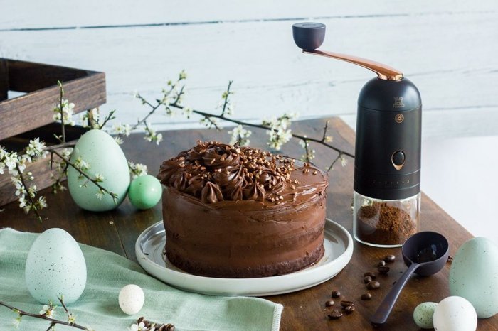 osterkuchen rezept vegan schokolade