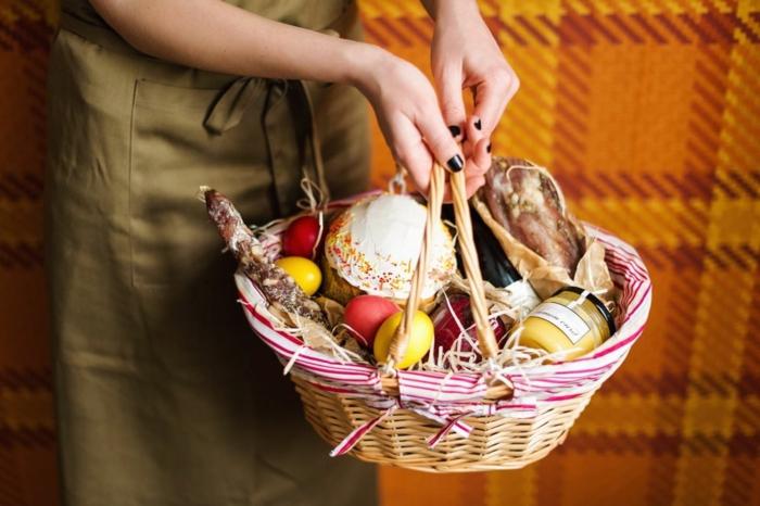 osternest backen osternest basteln naturmaterialien nachhaltig denken osternest ostergeschenke