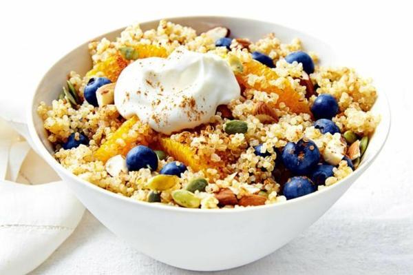 schnelle frühstücksideen quinoa salat