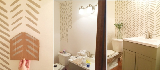 streichtechniken badezimmer wandgestaltung