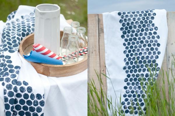 textilien bedrucken mit luftpolsterfolie