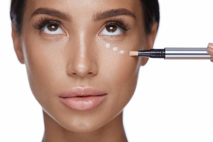 tränensäcke entfernen hausmittel schminke