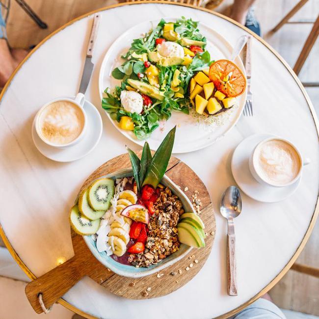 80-20-Regel frische Salate täglich essen gesund abnehmen