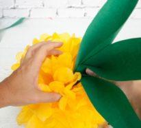 Ananas basteln und als tropische Partydeko verwenden: 2 einfache Bastelideen und Anleitung dazu