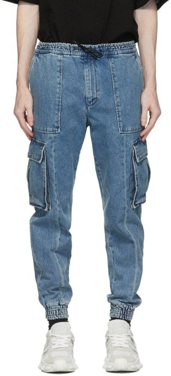 Arten von Cargohosen Damenmode Jeanshose