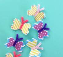 Basteln mit Pfeifenreinigern – 60 Bastelideen zum einfachen Nachmachen