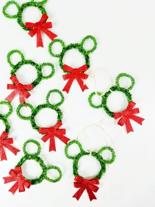 Basteln mit Pfeifenreinigern – 60 Bastelideen zum einfachen Nachmachen weihnachten basteln ideen kinder