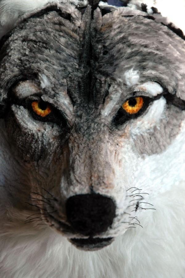 Basteln mit Pfeifenreinigern – 60 Bastelideen zum einfachen Nachmachen wolf realistisch zauberhaft super