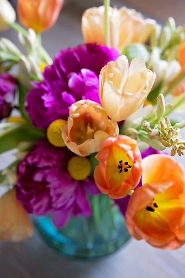 Blumenstrauß zum Muttertag selber binden – Die besten Blumenarten für Mama und Tipps blumen arrangieren schön