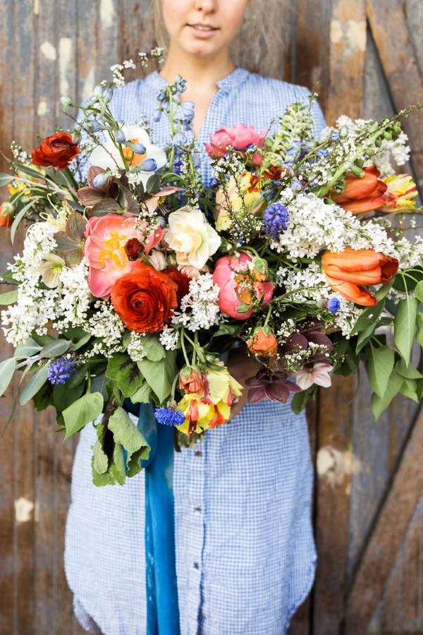 Blumenstrauß zum Muttertag selber binden – Die besten Blumenarten für Mama und Tipps blumenstrauß wildblumen wiesenblumen