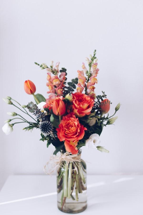 Blumenstrauß zum Muttertag selber binden – Die besten Blumenarten für Mama und Tipps muttertag ideen mit rose